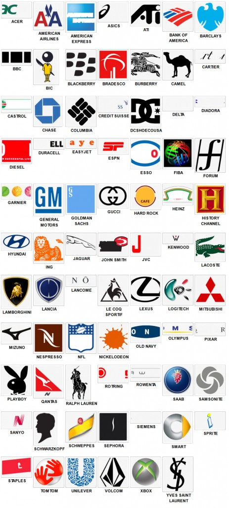 Hyundai Saint Laurent >> Logo Quiz Solution Niveau | soluces | Page 2